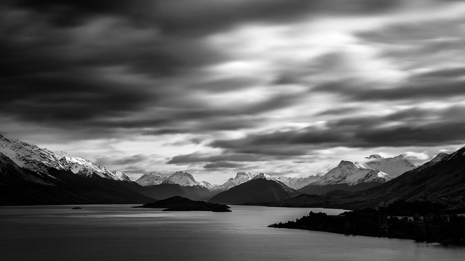 wildlight safaris new zealand queenstown photography location pigeon island from bennets bluff